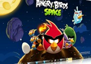 Angry Birds Space Windows 7 Theme