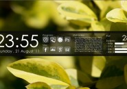 Before Dawn Rainmeter Theme