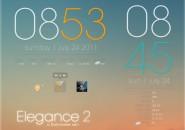 Elegance 2 Rainmeter Theme