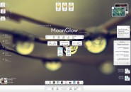 MoonGlow Rainmeter Theme