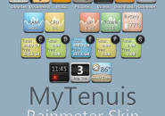 MyTenuis Rainmeter Theme