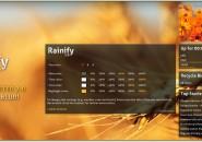 Rainify Rainmeter Theme