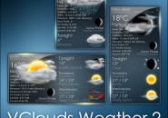 VClouds Weather 2 Rainmeter Theme