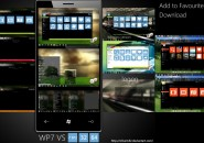 WP7 Mango VS windows 7 theme