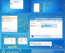 Aero+ theme for windows 7