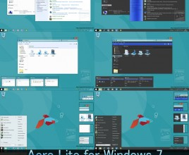 Aero lite final theme for windows 7