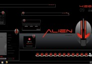 Alien Invasion Windows Blind Theme