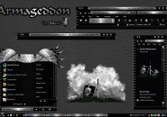 Armageddon Windows Blind Theme