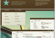 Asethetic groove theme for windows 7