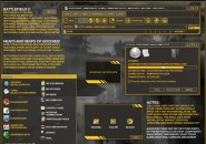 BattleField In Windows Blind Theme