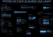 Blue Vision Rainmeter Theme