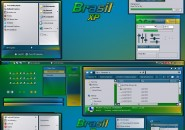 Brazilians Windows Blind Theme