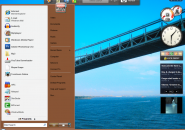 Brown Live Windows Blind Theme