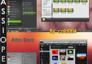 Cassiopea final theme for windows 7