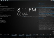 Century Gothic Rainmeter Windows 7 Skin