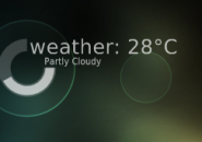 Circuitous Weather Rainmeter Theme For Windows 7