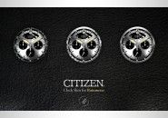 Citizen clock Rainmeter Skin