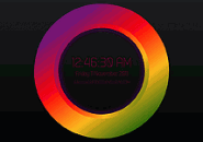 Color wheel Abstraction Screensaver