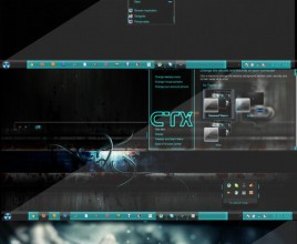 Creative plosion theme for windows 7
