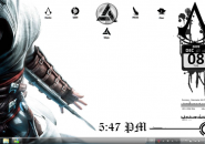 Dark Creed Rainmeter Theme For Windows 7