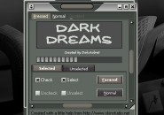 Dark Dreams Windows Blind Theme
