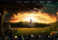 Darkness Falls Rainmeter Skin For Windows 7