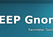 Deep Gnome Rainmeter Skin