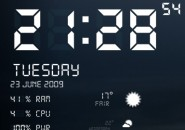 Digital User Interface Rainmeter Windows 7 Theme
