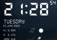 Digital User Interface Rainmeter Windows 7 Theme