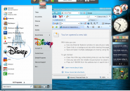 Disney Windows Blind Theme