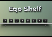 Eqo Shelf Rainmeter Skin For Windows 7