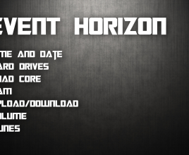 Event Horizon Rainmeter Theme For Windows 7
