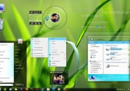 Extraordinary theme for windows 7