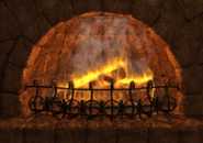 Fire Place 3D Screensaver