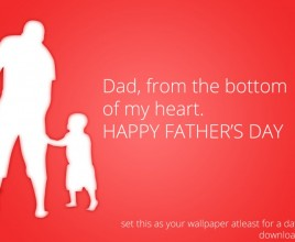 For Dad with love theme for windows 7