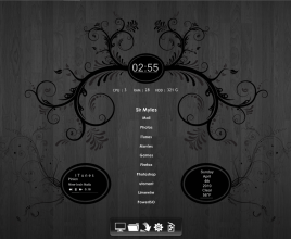 Forbidden Fruit Rainmeter Theme For Windows 7