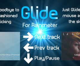 Glide Windows 7 Rainmeter Theme