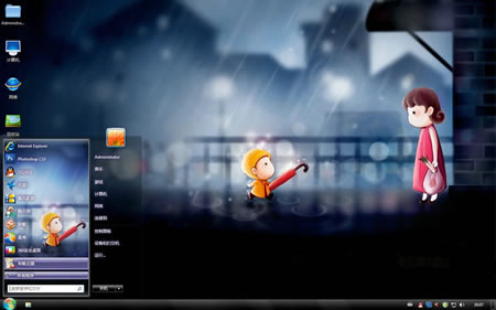 windows 7 themes  anime episodes