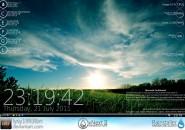 Grass Nex2 Windows 7 Rainmeter Skin