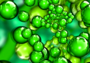 Green Abstract Screensaver