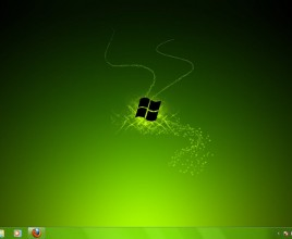 Green and yellow theme for windows 7