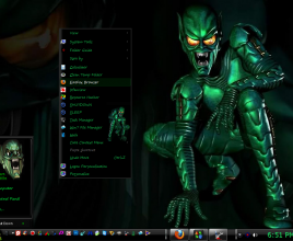 Green globin v2 theme for windows 7