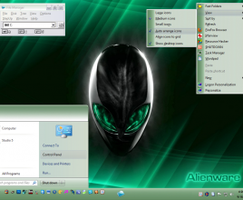 Green theme for windows 7