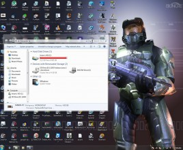 Halo theme for windows 7
