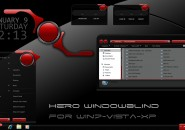 Hero Windows Blind Theme