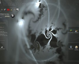 Hidden Trays Rainmeter Theme For Windows 7