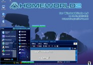 HomyWorld Windows Blind Theme