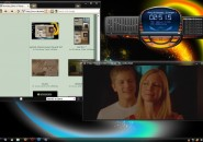 Inspirat clearscreen round theme for windows 7