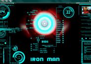 Iron Man Jarvis Latest Big Released Windows 7 Rainmeter Skin