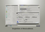Kindling Bright Windows Blind Theme